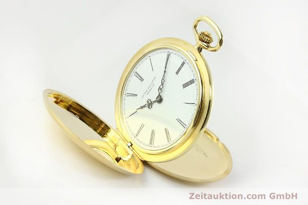 Used luxury watch Patek Philippe Taschenuhr 18 ct gold manual winding Kal. 17-170 Ref. 865  | 142132 03