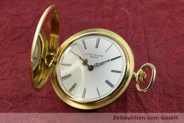 Used luxury watch Patek Philippe Taschenuhr 18 ct gold manual winding Kal. 17-170 Ref. 865  | 142132 04