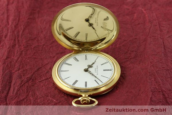 Used luxury watch Patek Philippe Taschenuhr 18 ct gold manual winding Kal. 17-170 Ref. 865  | 142132 05
