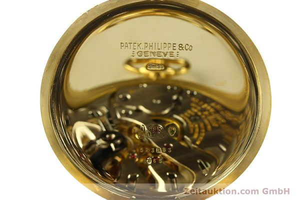 Used luxury watch Patek Philippe Taschenuhr 18 ct gold manual winding Kal. 17-170 Ref. 865  | 142132 09