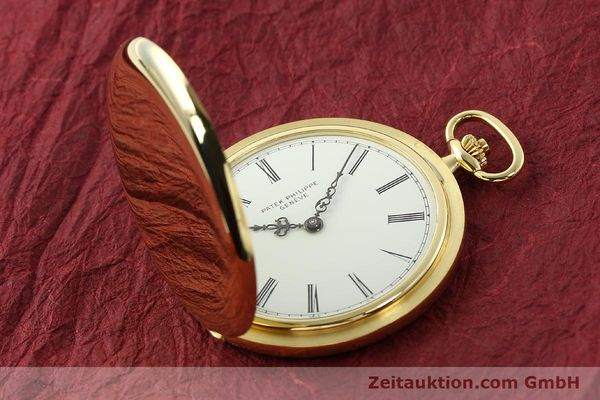Used luxury watch Patek Philippe Taschenuhr 18 ct gold manual winding Kal. 17-170 Ref. 865  | 142132 14