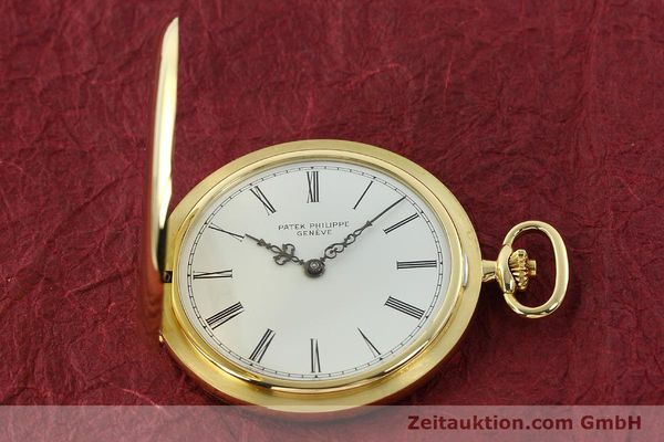 Used luxury watch Patek Philippe Taschenuhr 18 ct gold manual winding Kal. 17-170 Ref. 865  | 142132 15