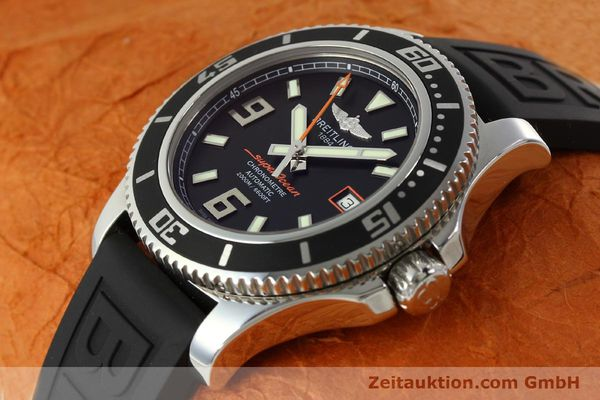 Used luxury watch Breitling Superocean steel automatic Kal. B17 ETA 2824-2 Ref. A17391  | 142136 01