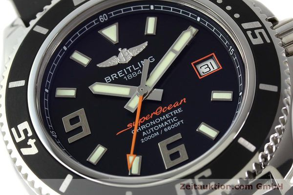 Used luxury watch Breitling Superocean steel automatic Kal. B17 ETA 2824-2 Ref. A17391  | 142136 02