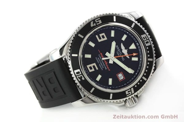 Used luxury watch Breitling Superocean steel automatic Kal. B17 ETA 2824-2 Ref. A17391  | 142136 03