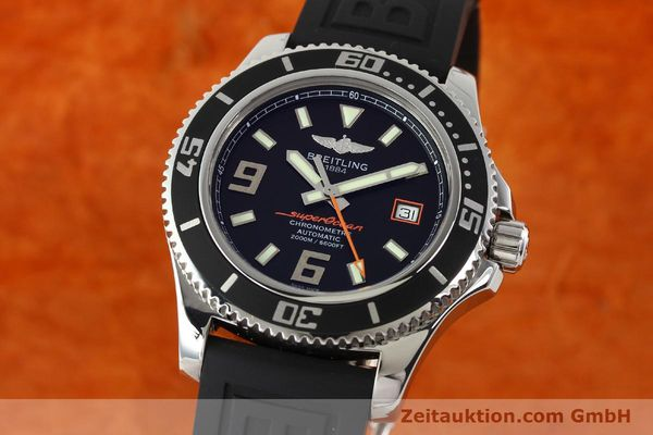 Used luxury watch Breitling Superocean steel automatic Kal. B17 ETA 2824-2 Ref. A17391  | 142136 04