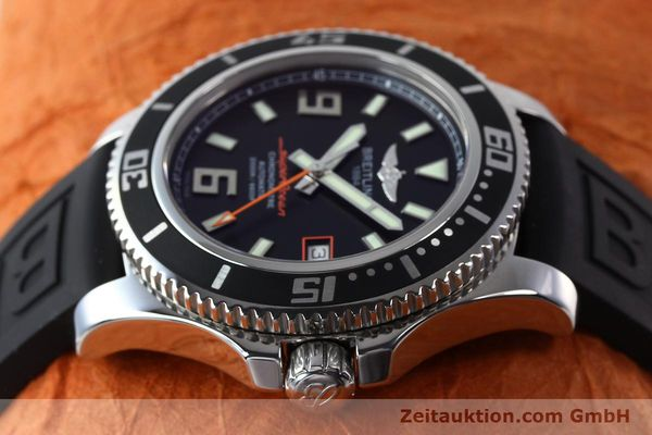 Used luxury watch Breitling Superocean steel automatic Kal. B17 ETA 2824-2 Ref. A17391  | 142136 05