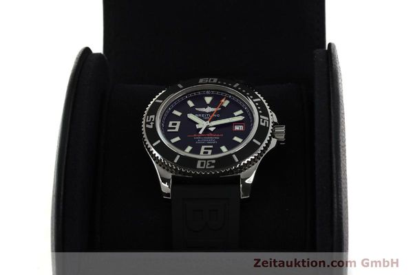 Used luxury watch Breitling Superocean steel automatic Kal. B17 ETA 2824-2 Ref. A17391  | 142136 07