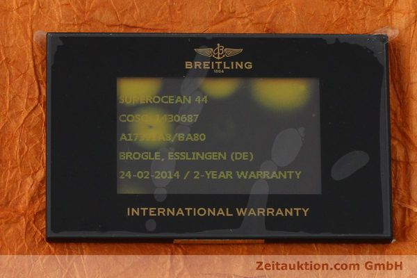 Used luxury watch Breitling Superocean steel automatic Kal. B17 ETA 2824-2 Ref. A17391  | 142136 08