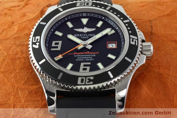 Used luxury watch Breitling Superocean steel automatic Kal. B17 ETA 2824-2 Ref. A17391  | 142136 18