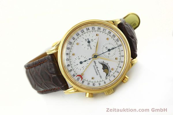 Used luxury watch Chronoswiss A. Rochat chronograph gold-plated automatic Kal. VAL 7750 Ref. 77990  | 142139 03