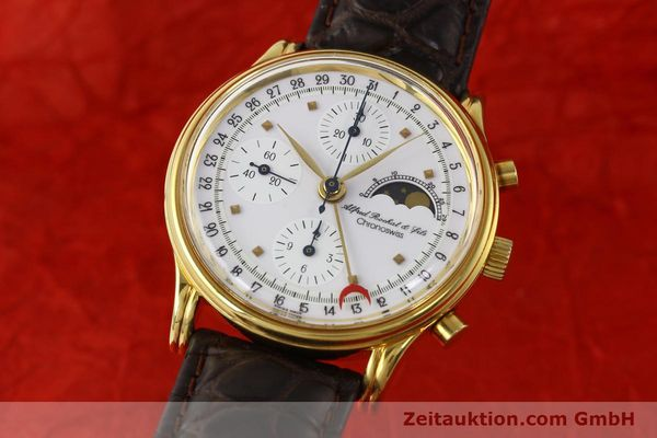 Used luxury watch Chronoswiss A. Rochat chronograph gold-plated automatic Kal. VAL 7750 Ref. 77990  | 142139 04