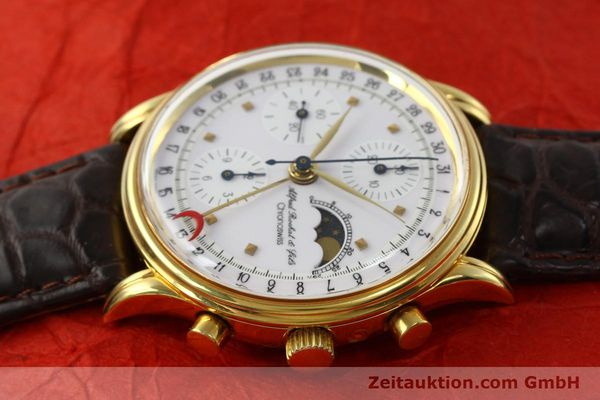 Used luxury watch Chronoswiss A. Rochat chronograph gold-plated automatic Kal. VAL 7750 Ref. 77990  | 142139 05