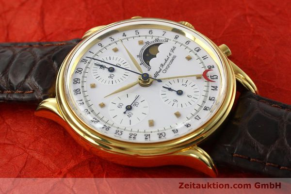 Used luxury watch Chronoswiss A. Rochat chronograph gold-plated automatic Kal. VAL 7750 Ref. 77990  | 142139 12