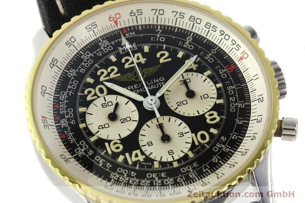 Used luxury watch Breitling Navitimer chronograph steel / gold manual winding Kal. LWO 1873 Ref. 81600  | 142141 02