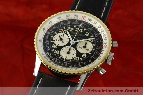 Used luxury watch Breitling Navitimer chronograph steel / gold manual winding Kal. LWO 1873 Ref. 81600  | 142141 04