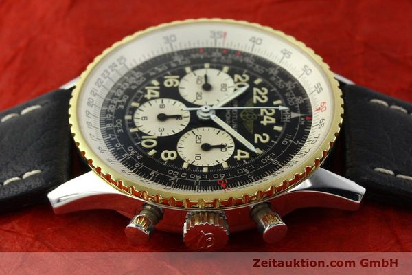 Used luxury watch Breitling Navitimer chronograph steel / gold manual winding Kal. LWO 1873 Ref. 81600  | 142141 05