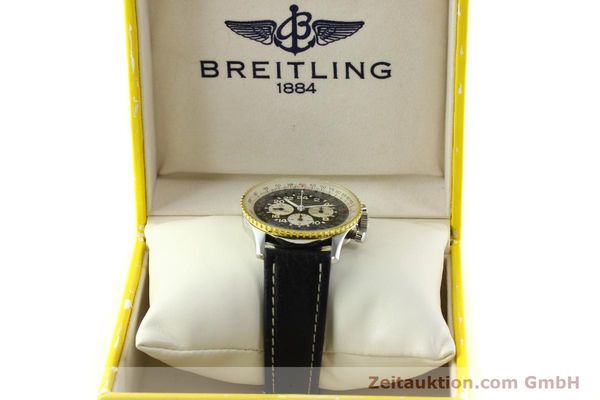 Used luxury watch Breitling Navitimer chronograph steel / gold manual winding Kal. LWO 1873 Ref. 81600  | 142141 07