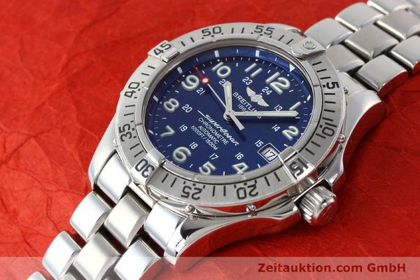 Used luxury watch Breitling Superocean steel automatic Kal. B17 ETA 2824-2 Ref. A17360  | 142144 01