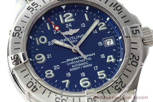 Used luxury watch Breitling Superocean steel automatic Kal. B17 ETA 2824-2 Ref. A17360  | 142144 02
