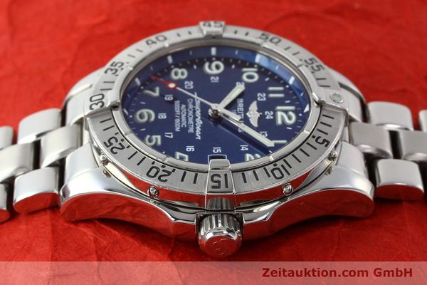Used luxury watch Breitling Superocean steel automatic Kal. B17 ETA 2824-2 Ref. A17360  | 142144 05