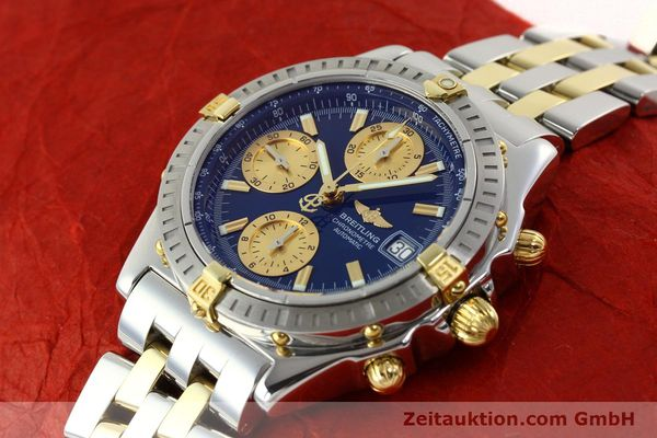 Used luxury watch Breitling Chronomat chronograph steel / gold automatic Kal. B13 ETA 7750 Ref. B13352  | 142145 01