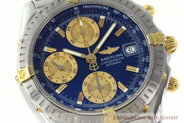 Used luxury watch Breitling Chronomat chronograph steel / gold automatic Kal. B13 ETA 7750 Ref. B13352  | 142145 02