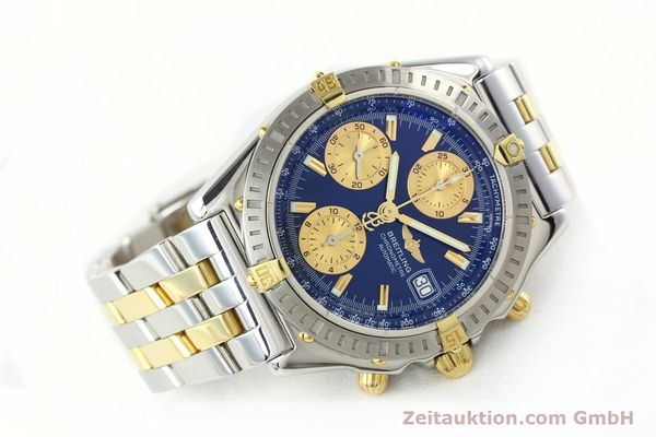 Used luxury watch Breitling Chronomat chronograph steel / gold automatic Kal. B13 ETA 7750 Ref. B13352  | 142145 03