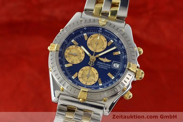 Used luxury watch Breitling Chronomat chronograph steel / gold automatic Kal. B13 ETA 7750 Ref. B13352  | 142145 04