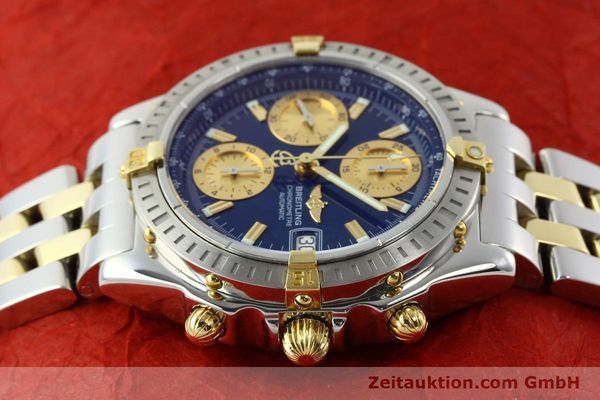Used luxury watch Breitling Chronomat chronograph steel / gold automatic Kal. B13 ETA 7750 Ref. B13352  | 142145 05
