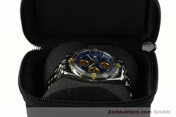 Used luxury watch Breitling Chronomat chronograph steel / gold automatic Kal. B13 ETA 7750 Ref. B13352  | 142145 07