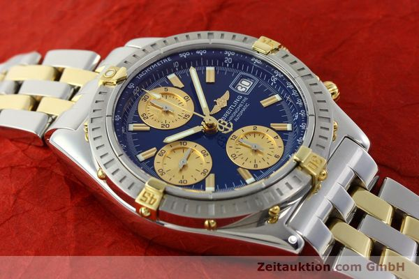 Used luxury watch Breitling Chronomat chronograph steel / gold automatic Kal. B13 ETA 7750 Ref. B13352  | 142145 16