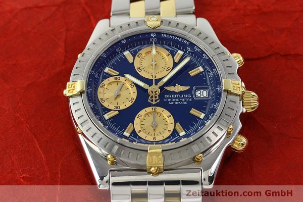Used luxury watch Breitling Chronomat chronograph steel / gold automatic Kal. B13 ETA 7750 Ref. B13352  | 142145 17