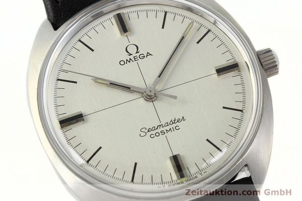 Used luxury watch Omega Seamaster steel manual winding Kal. 601  | 142148 02