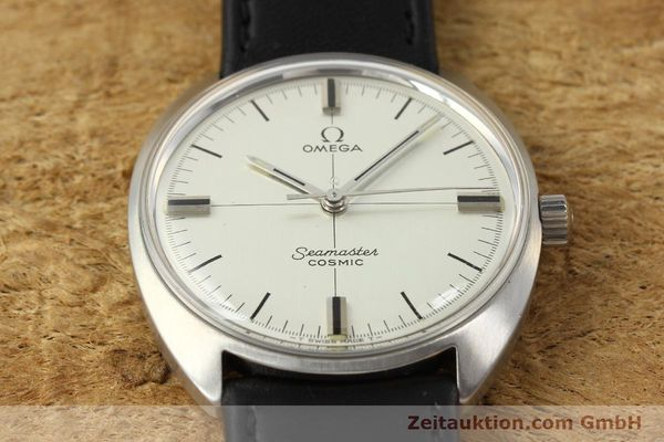 Used luxury watch Omega Seamaster steel manual winding Kal. 601  | 142148 14
