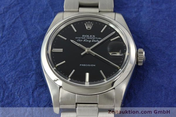 Used luxury watch Rolex Precision steel automatic Kal. 1520 Ref. 5700  | 142150 15