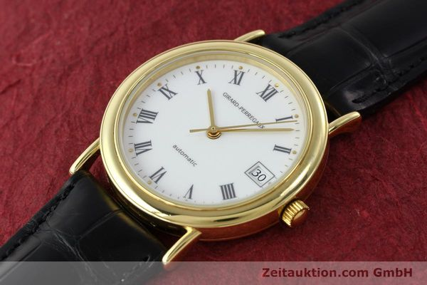 Used luxury watch Girard Perregaux * 18 ct gold automatic Kal. 2200  | 142153 01