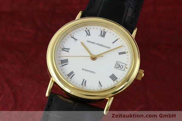 Used luxury watch Girard Perregaux * 18 ct gold automatic Kal. 2200  | 142153 04