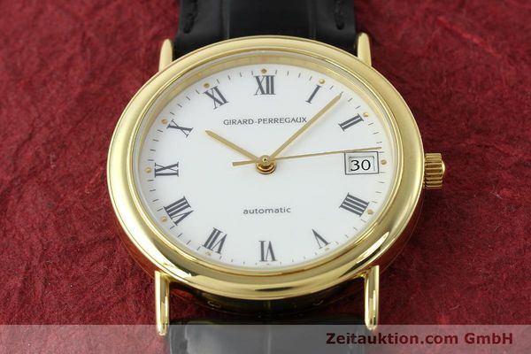 Used luxury watch Girard Perregaux * 18 ct gold automatic Kal. 2200  | 142153 16