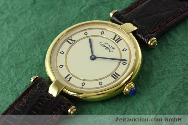 Used luxury watch Cartier Vermeil silver-gilt quartz Kal. 90  | 142156 01