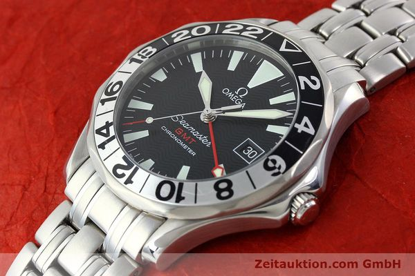 Used luxury watch Omega Seamaster steel automatic Kal. 1128  | 142157 01