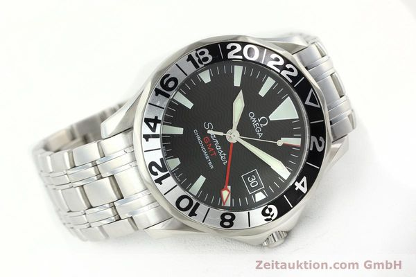 Used luxury watch Omega Seamaster steel automatic Kal. 1128  | 142157 03