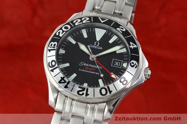 Used luxury watch Omega Seamaster steel automatic Kal. 1128  | 142157 04