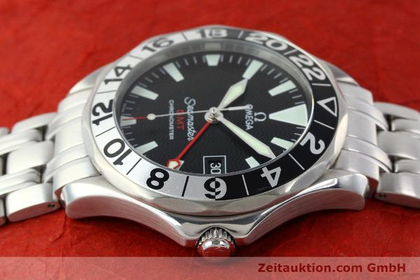 Used luxury watch Omega Seamaster steel automatic Kal. 1128  | 142157 05