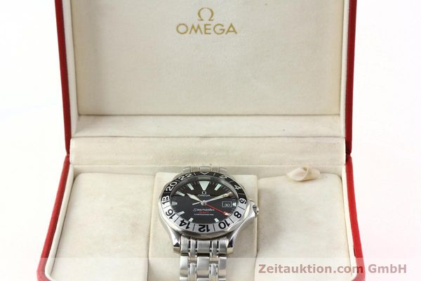Used luxury watch Omega Seamaster steel automatic Kal. 1128  | 142157 07