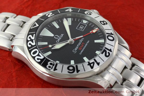 Used luxury watch Omega Seamaster steel automatic Kal. 1128  | 142157 16