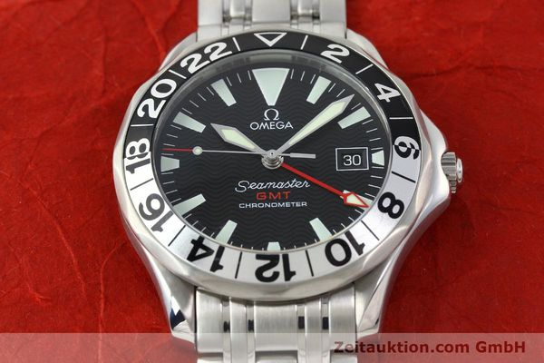 Used luxury watch Omega Seamaster steel automatic Kal. 1128  | 142157 17