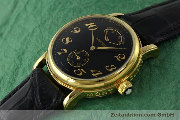 Used luxury watch Montblanc Meisterstück gold-plated manual winding Kal. 4810901 ETA 7001 Ref. 7003  | 142161 01
