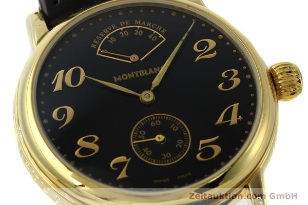Used luxury watch Montblanc Meisterstück gold-plated manual winding Kal. 4810901 ETA 7001 Ref. 7003  | 142161 02