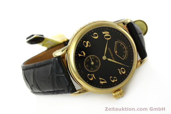Used luxury watch Montblanc Meisterstück gold-plated manual winding Kal. 4810901 ETA 7001 Ref. 7003  | 142161 03